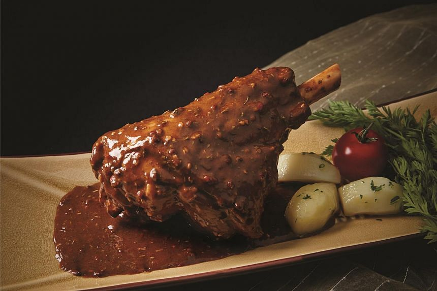 The Tuscany lamb shank ($5 a serving) is delightfully fall-off-the-bone tender and cooked in a savoury Tuscan-style gravy.