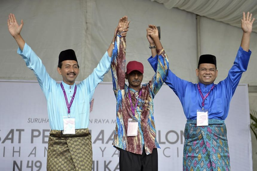 The Sungai Kandis by-election will see a three-way fight between PKR's Zawawi Ahmad Mughni, independent candidate Murthi Krishnasamy and BN's Lokman Noor Adam.