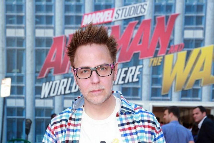 Gunn attending the premiere of Disney And Marvel's Ant-Man And The Wasp in Los Angeles, California.
