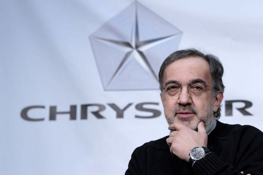 Sergio Marchionne (above) was replaced as chief executive of Fiat Chrysler.