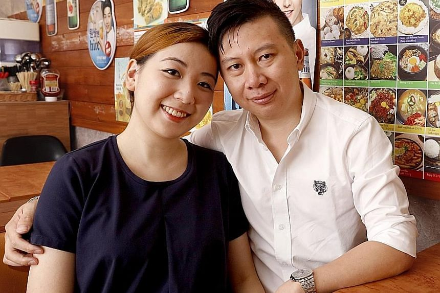 Ms Yao Sueann, who is 14 weeks pregnant, and Mr Louie Loke hope to have four children because Ms Yao has three frozen embryos. They underwent a few rounds of IVF procedures, spending over $100,000 on treatments.
