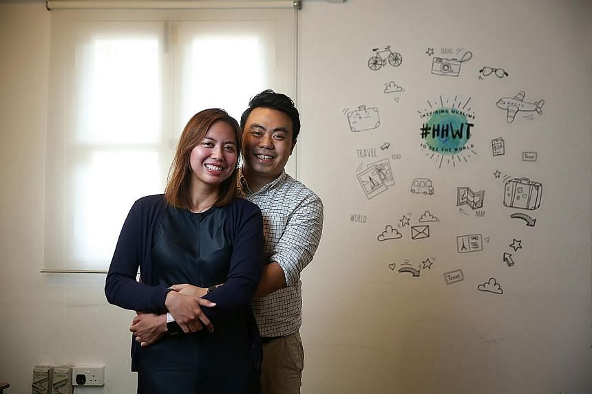 Mr Mikhail Goh and his wife Tengku Suzana Tengku Abdul Kadir are the co-founders of Have Halal, Will Travel, a travel publication for Muslim travellers.