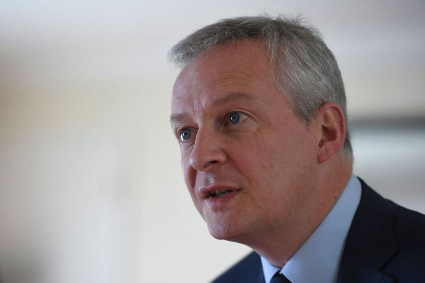 Bruno Le Maire speaking during an interview with AFP in Buenos Aires.