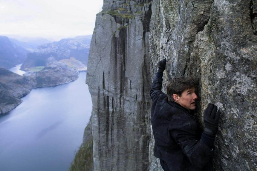 Tom Cruise stars as Ethan Hunt in Mission: Impossible - Fallout.