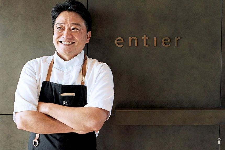 The incredibly talented Horiuchi is the man behind Entier's ambitious rustic French food. Horiuchi has spent 20 years in the kitchens of some of the best French restaurants in Europe.