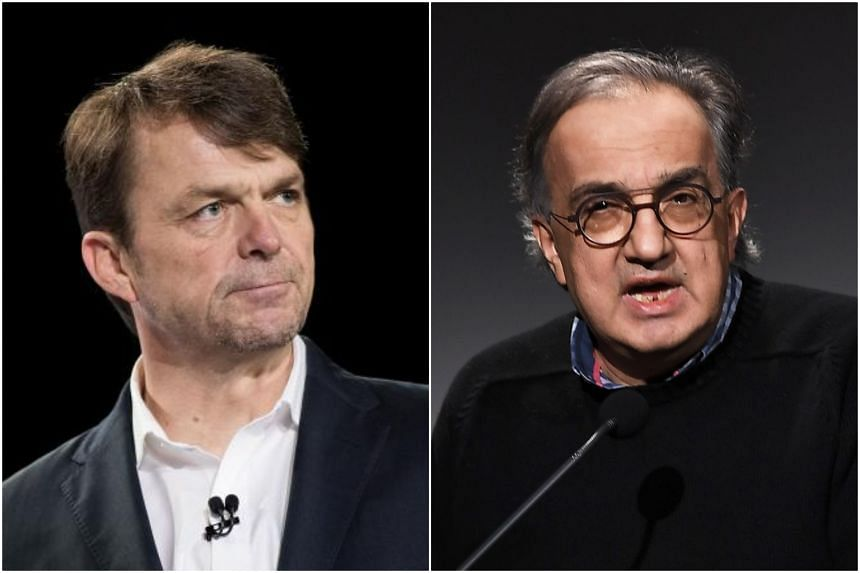 Fiat Chrysler announced that Jeep boss Mike Manley (left) will be taking over from CEO Sergio Marchionne, who is seriously ill.