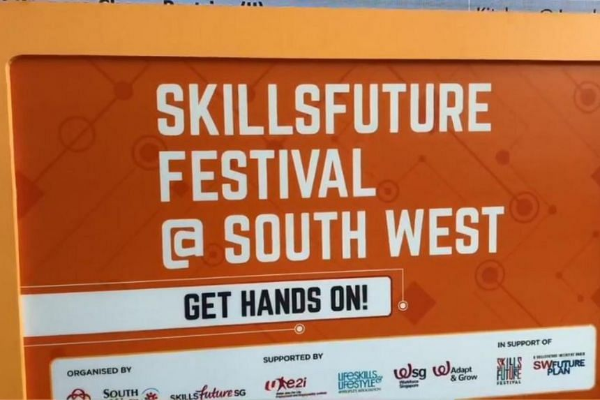 South West CDC held its first SkillsFuture Festival, showcasing more than 400 training and career opportunities, on July 22, 2018.