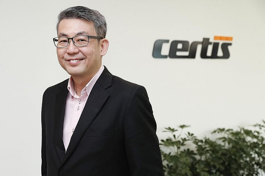 """Certis Cisco group chief executive officer Paul Chong says hiring Taiwanese graduates has helped greatly, but his firm """"will still primarily recruit Singaporeans, because we secure a lot of very important, national, critical infrastructure and today,"""