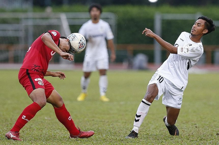 Like A Funeral For Singapore Football As Albirex Clinch League