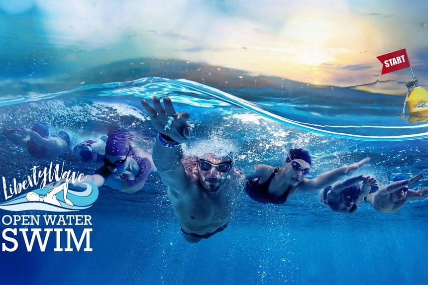 The second edition of the Liberty Wave Open Water Swim this year had five categories: 1km, 2.8km, 5km, a 300m kids' race and a 380m novelty race.