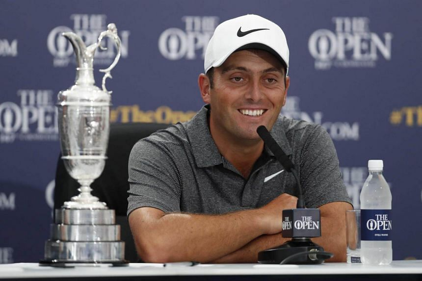 Francesco Molinari is a rare golfer from continental Europe to lift the Claret Jug.