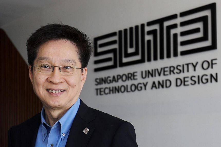 Singapore University of Technology and Design's president Chong Tow Chong said 76 per cent of freshmen this year chose to join the school despite having multiple university offers.