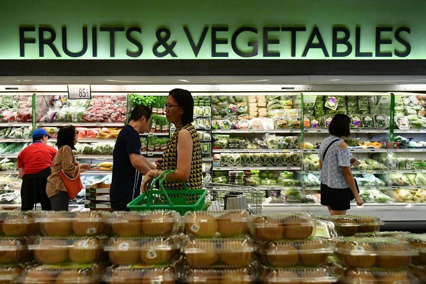 Faster growth in non-cooked food item prices more than offset a slower increase in prepared meal costs, the MAS and the Ministry of Trade and Industry noted in a joint statement.