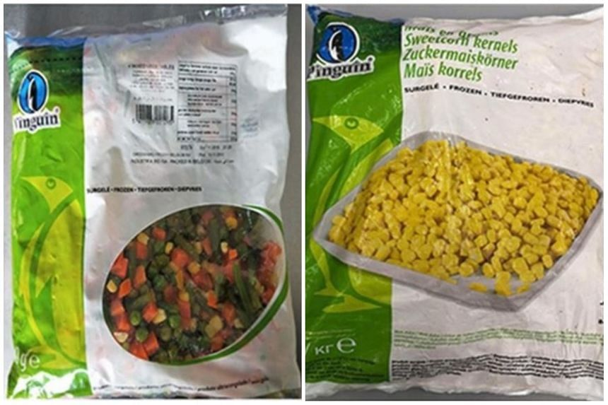 Sweet corn kernels and frozen mixed vegetables under the brand Pinguin have been recalled by the Agri-Food and Veterinary Authority following a bacterial outbreak in Europe.