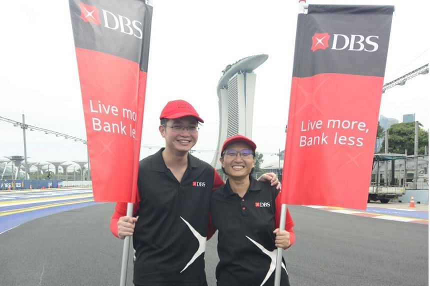 Ms Lim Keen Hong has participated in the NDP three times as part of the DBS Bank contingent, but this year will be the first time for her son Justin Wong.