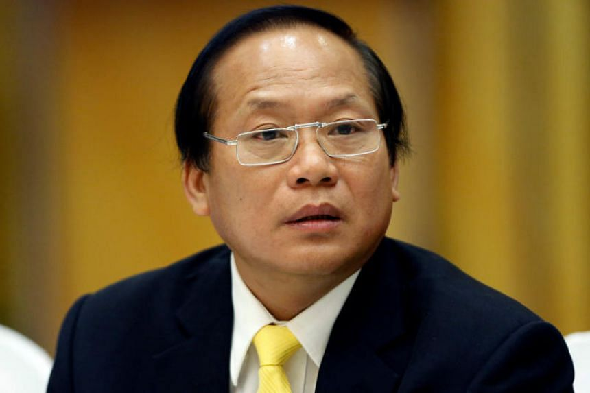 Vietnam's Information Minister Truong Minh Tuan was suspended for violations stated by the Communist Party's inspection committee.