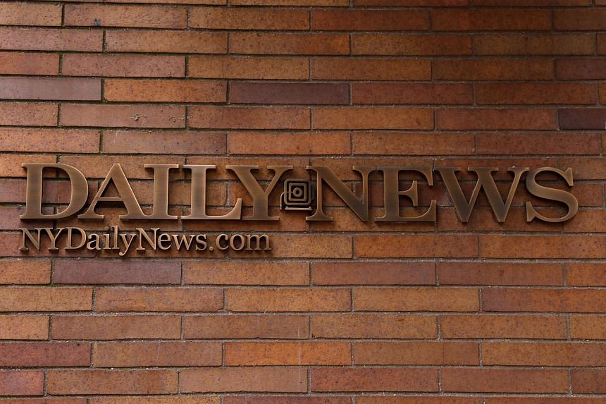 """The New York Daily News newspaper headquarters in Manhattan, New York City. The century-old daily has axed half of its editorial staff due to """"significant financial challenges""""."""