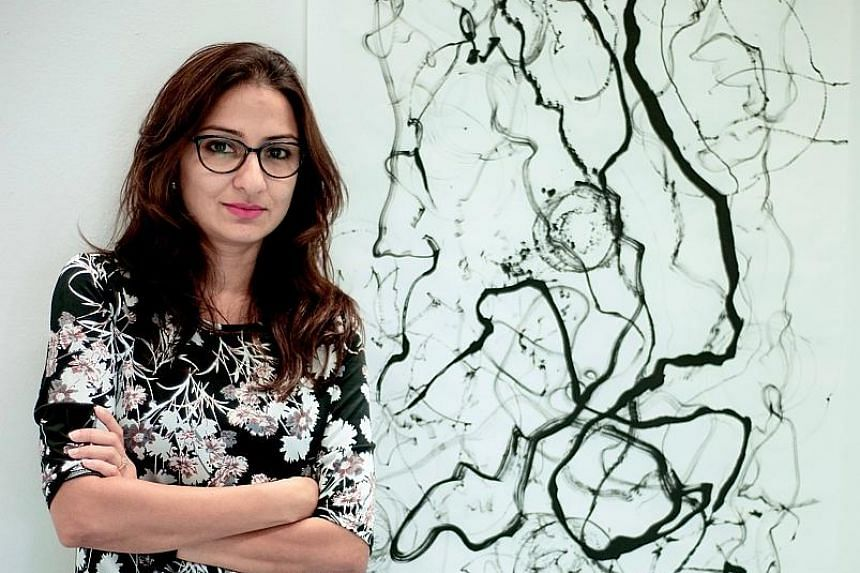 Mumbai-born Dipali Gupta (above) won for O Her!, video works that look at female sexuality in settings similar to still-life paintings.