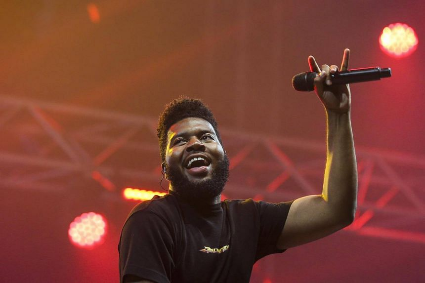 R&B singer Khalid at the NOS Alive Festival in Portugal. The 20-year-old Texan is set to bring his American Teen Tour to Singapore on Nov 6, 2018.