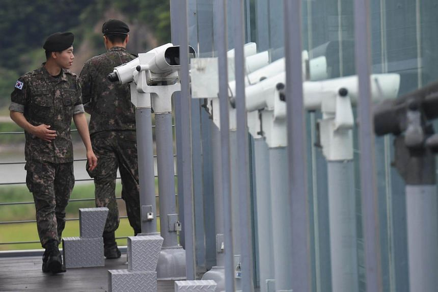 Plans to reduce guard posts and equipment along the demilitarised zone between the two Koreas are in the works, announced South Korea's defence ministry.