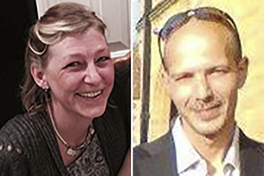 Novichok victim Charlie Rowley (right) said he gave his partner Dawn Sturgess (left) a perfume bottle he found which contained the deadly nerve agent.