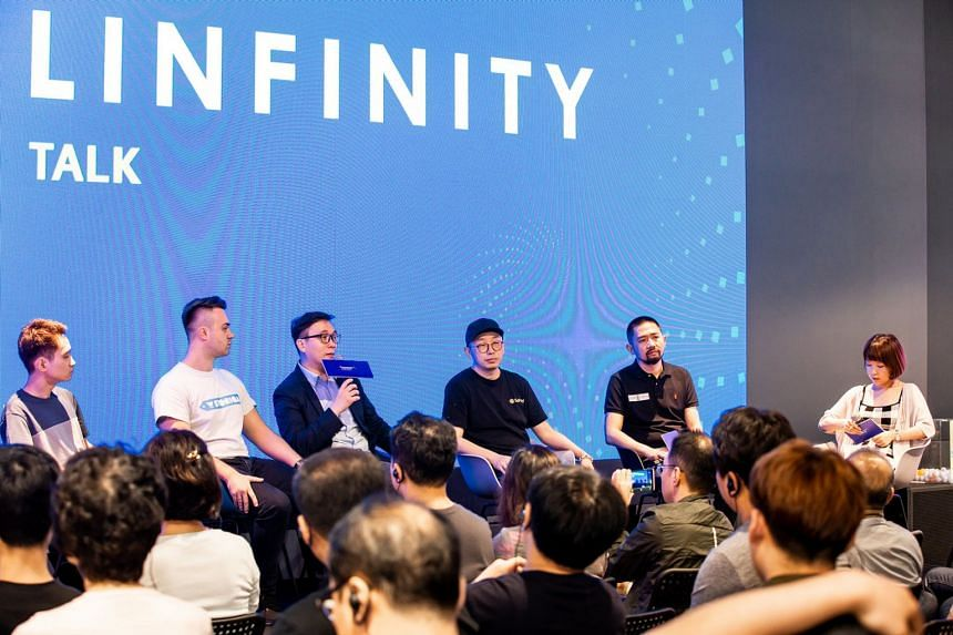 Linfinity CEO Anndy Lian shares his views on blockchain at Linfinity Talks, the company's self-contained global roadshow platform that demonstrates blockchain projects and seeks out collaborations with like-minded businesses to further explore blockc