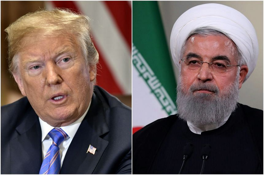 US President Donald Trump's raw attack on Iran is reminiscent of his war on words with North Korea, sparking questions about US strategy towards the the Islamic republic.