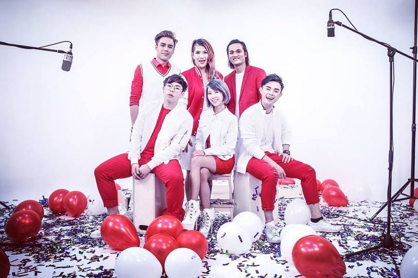 MICappella - who sing without instrumentation as their name suggests - performed National Day song medleys in 2013 and 2015 and posted the videos online.