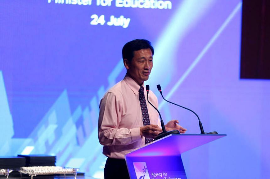 Education Minister Ong Ye Kung said the results are showing, with Singapore able to attract big names, such as Rolls- Royce, Alibaba and Google, to set up corporate labs and innovation centres here, and using Singapore as a testbed for new technology