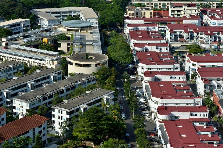 The Urban Redevelopment Authority said it will rezone 28 residential units in Tiong Bahru into residential units with shops on the first storey.