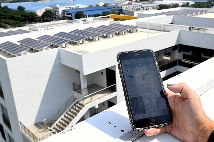 The online dashboard by solar energy retailer Sun Electric allows users to track their energy use. For example, it lets them see from which rooftop their solar electricity comes.