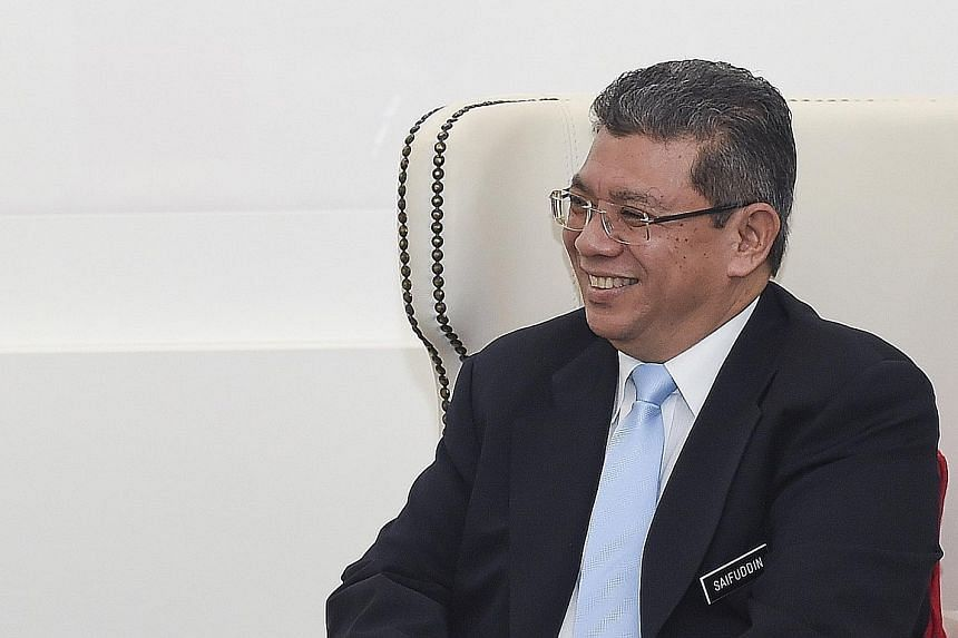 """Malaysian Foreign Minister Saifuddin Abdullah, who is due to visit Singapore next week, said the Republic has """"done a good job"""" in maintaining religious harmony that his country can learn from."""