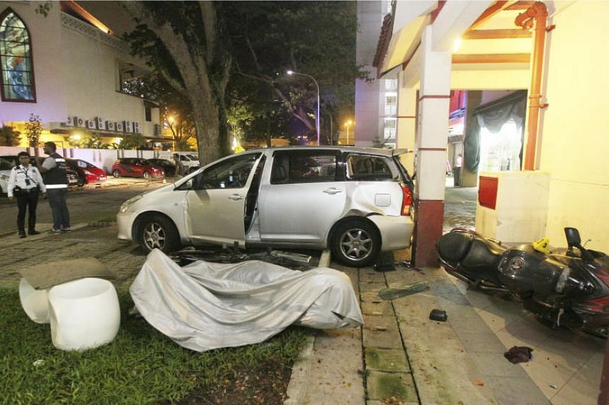 An inquiry into the death of Madam Ng Siew Fong revealed that the front left tyre of the vehicle ran over her when she fell to the ground. She died from a head injury.