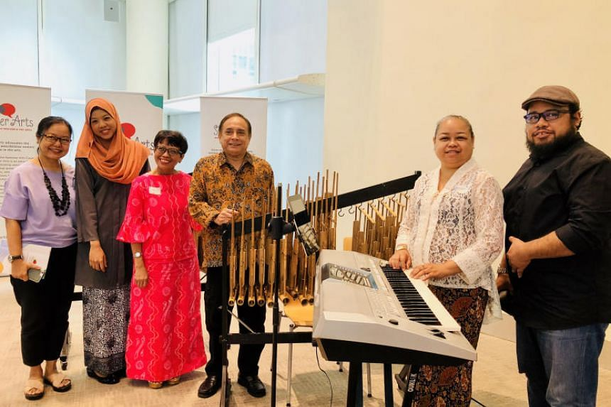 On Sept 8, 2018, three generations of music teachers and students will take to the stage together at the School of the Arts Concert Hall, in an angklung performance titled Konsert Gurindam Jiwa (Music of the Soul).