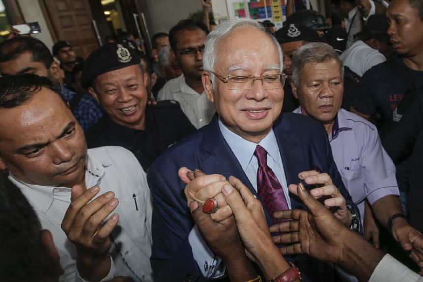 """Former Malaysian prime minister Najib Razak said his party will instead use the """"friendly"""" approach to woo voters for BN candidate Datuk Lokman Noor Adam."""