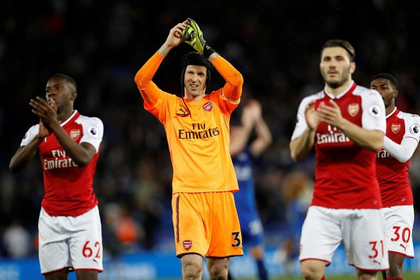 Petr Cech's spot has come into question after a patchy season last year, and following new manager Unai Emery's signing of Bernd Leno from Bayer Leverkusen.