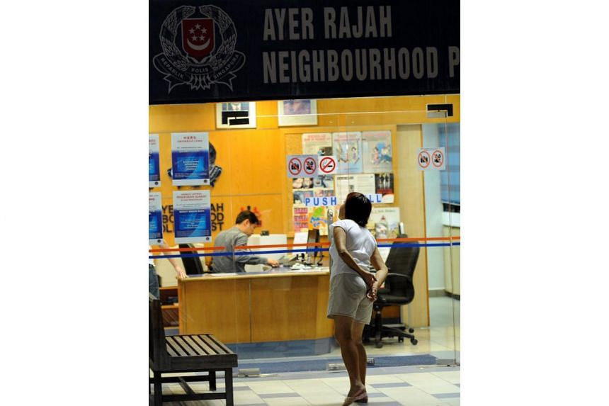 The Ayer Rajah Neighbourhood Police Post is one of six neighbourhood police posts that will be closed temporarily for renovation.
