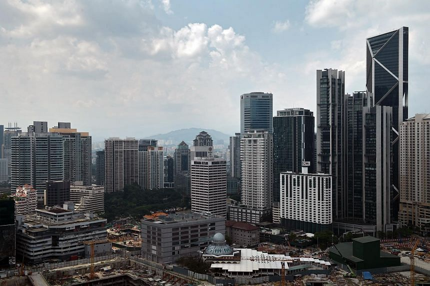 The city skyline of Kuala Lumpur seen in a photo taken on May 8, 2018.