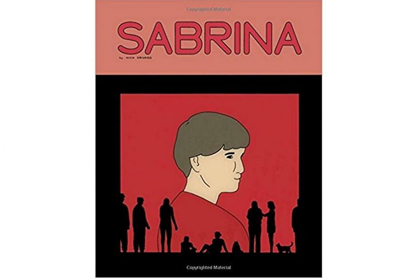 Sabrina Hardcover. Nick Drnaso's graphic novel, Sabrina, tells the story of a killing in Colorado while focusing on the Internet rumours and conspiracy theories that emerge around it.