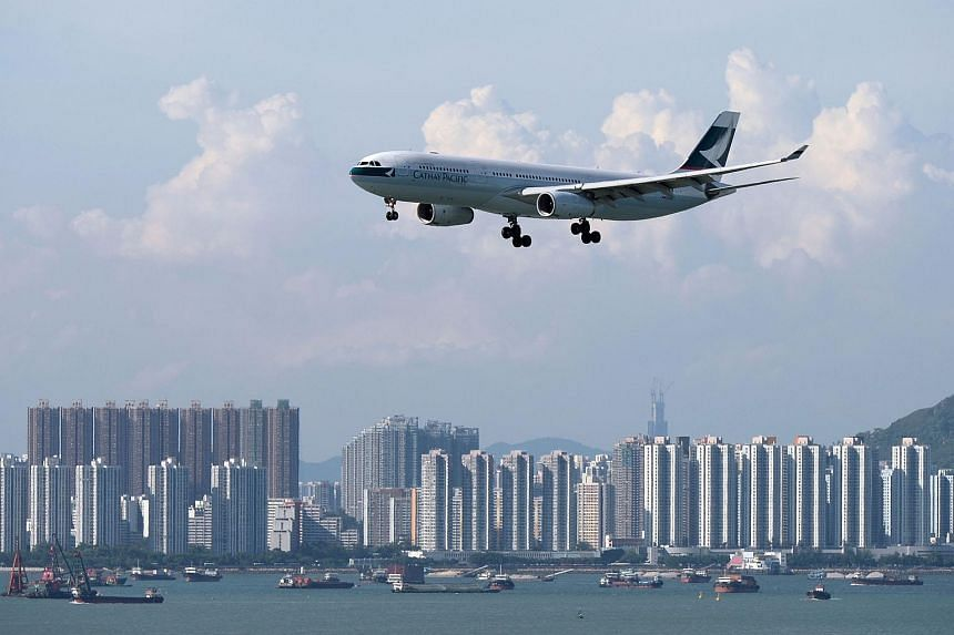 "Asked about the move,  Hong Kong's flag carrier Cathay Pacific said its airlines were registered as part of ""the Hong Kong Special Administrative Region (HKSAR) of the People's Republic of China""."