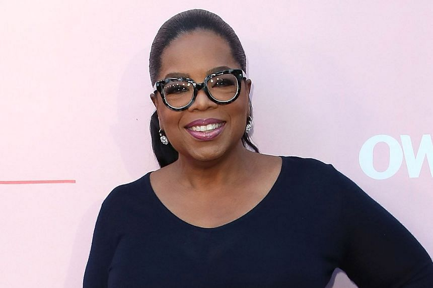 TELEVISION PERSONALITY OPRAH WINFREY