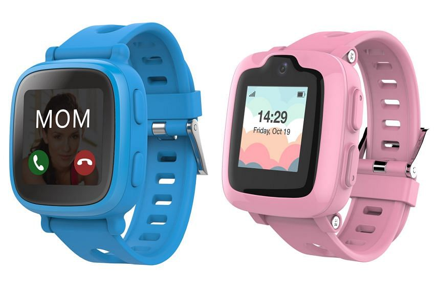 The Oaxis WatchPhone S1 (above left) is compatible with a micro SIM, while the S2 (right) uses a nano SIM.