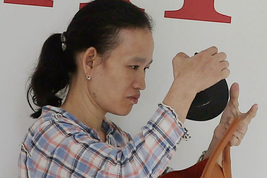Cai Mei Ying knocked down an elderly woman at Block 85 Bedok North Street 4, causing the victim to fracture her hip.