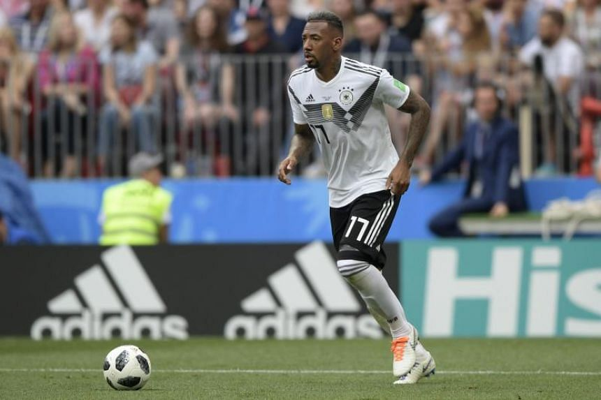 Bayern Munich centre-back Jerome Boateng, a 2014 World Cup winner with Germany, is currently valued at €45.5 million (S$72.5 million).