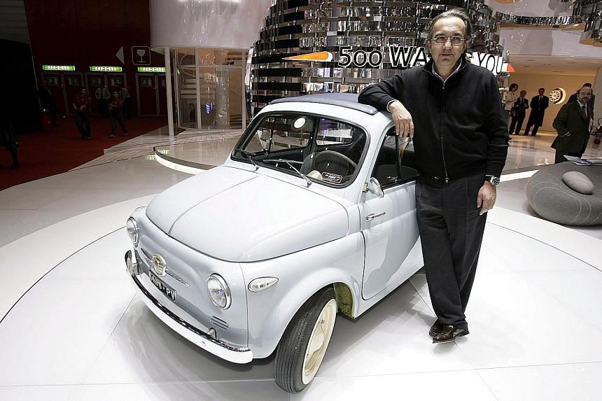 Mr Sergio Marchionne at the 77th Geneva International Motor Show in 2007. Fiat Chrysler announced yesterday that the 66-year-old had died, succumbing to complications from surgery. The company has not provided details on Mr Marchionne's illness.