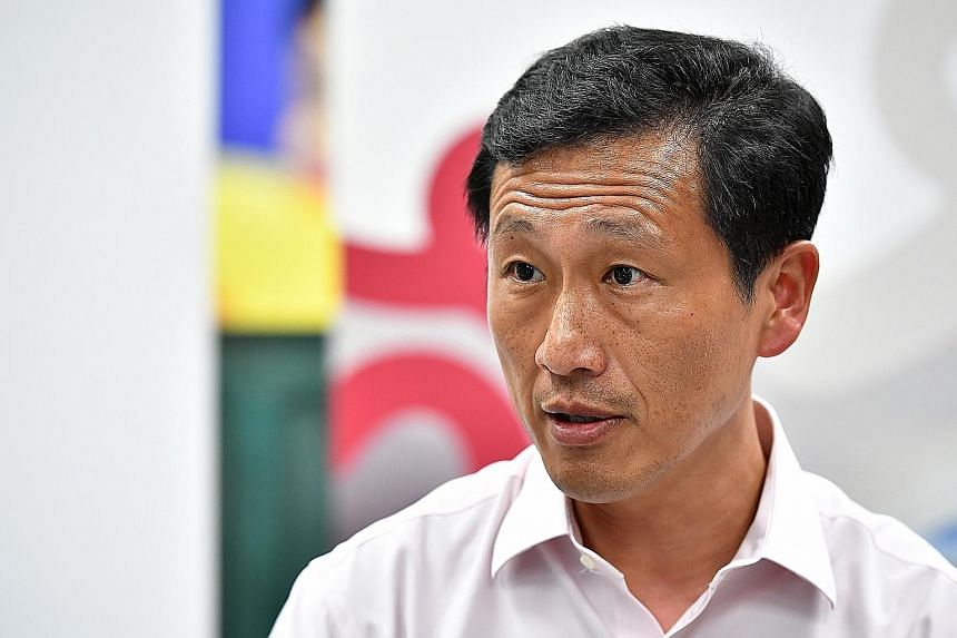 EDUCATION MINISTER ONG YE KUNG.