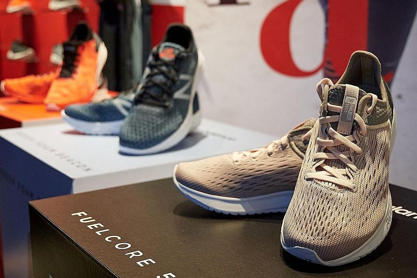 Local runners who have used the latest line of New Balance shoes - from right: FuelCore 5000, Fresh Foam Beacon and FuelCell Impulse - praised the design and cushioning. The athletics brand is the ST Run's official sportswear sponsor.