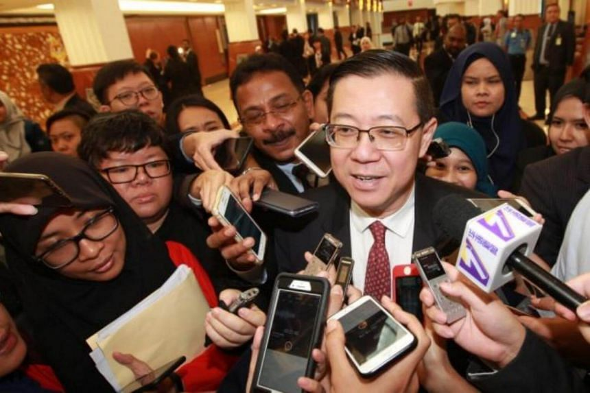 """""""I think that is a wise decision, to leave it to the Prime Minister,"""" said Malaysian Finance Minister Lim Guan Eng."""