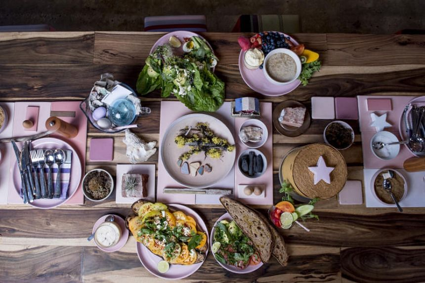 An assortment of dishes at Carthage Must Be Destroyed, a cafe in Brooklyn. Young Australian expats have transplanted their bright, Instagrammable cooking and mellow lifestyle by opening cafes in New York City.
