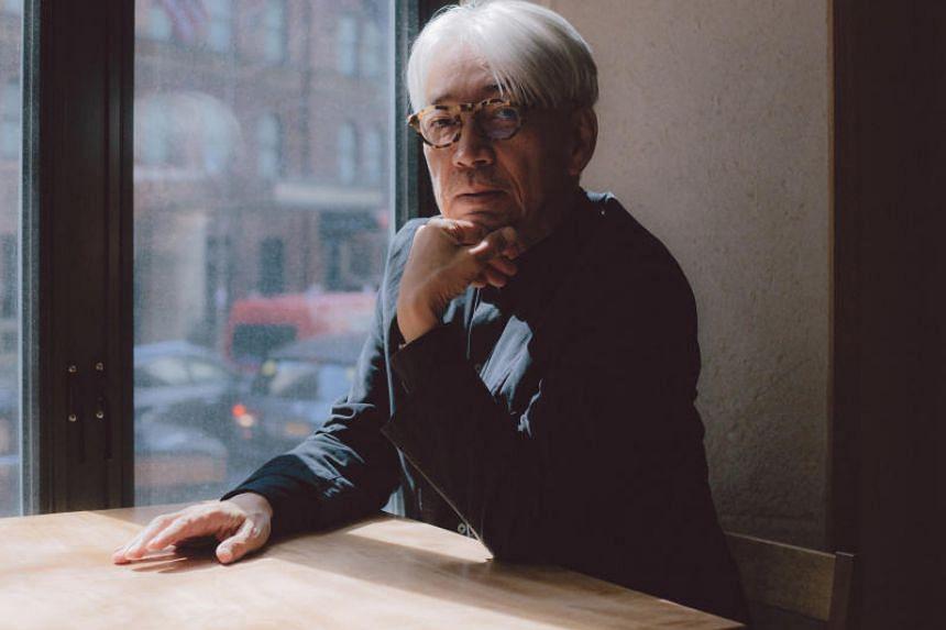 The prolific musician and composer Ryuichi Sakamoto at Kajitsu, a Manhattan restaurant where he created the music playlist.